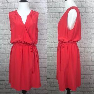 Cynthia Rowley Silk Surplice Wrap Dress size 12